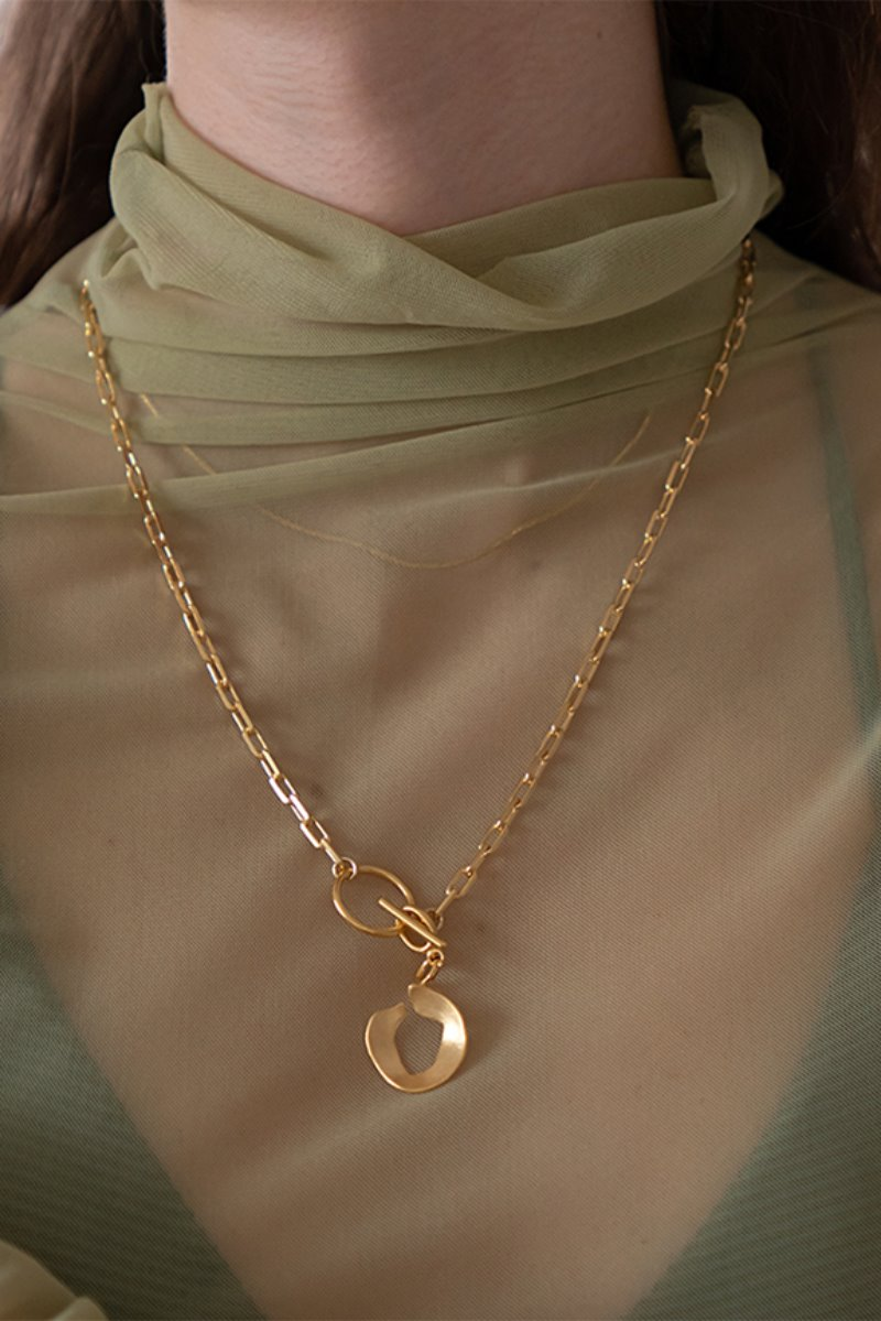 '004 COLLECTION' SEPERABLE FRAGMENT PENDANT NECKLACE