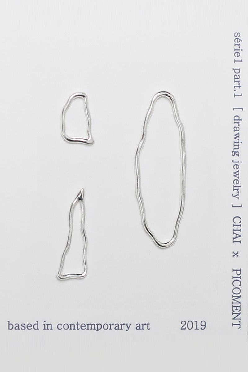 PICOMENTxCHAI [drawing jewelry] series #02